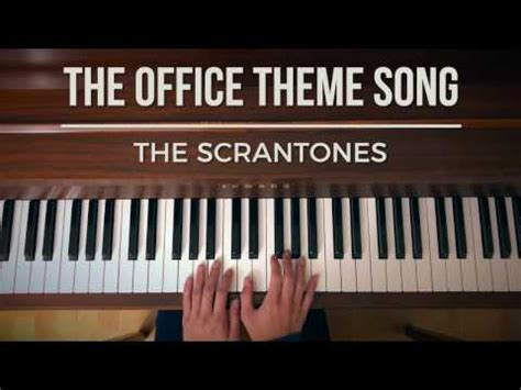 The Office Theme Song Piano by The Office Theme Song Extended Piano Cover Dundermifflin