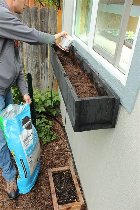 soil for window boxes step by step guide to planting a window box
