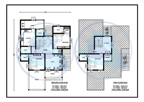 2100 square feet 2100 square feet double floor contemporary home design