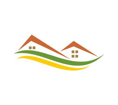 house logo design vector vector green house logo download vector logos free