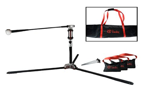 baseball swing trainer the rbi vortex batting machine and swing trainer