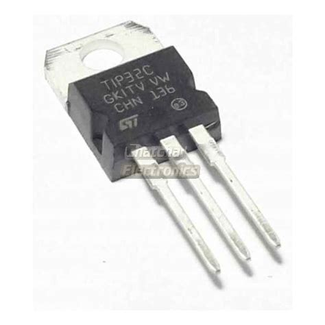 Transistor C6093 C 6093 tip32c เพาเวอร ทรานซ สเตอร 100v 5a pnp epitaxial silicon