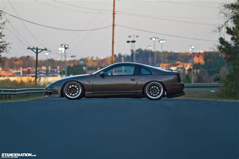sick lowered cars form function steven s stunning nissan 300zx