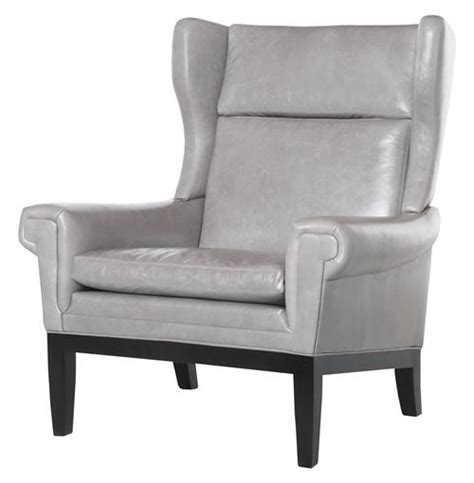 grey leather accent chair lyto mid century wing back masculine grey leather accent