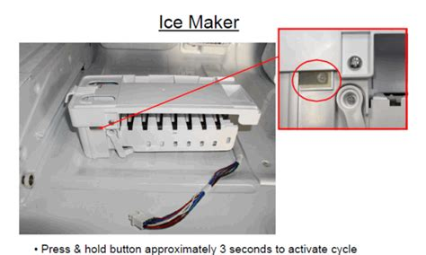 reset samsung ice maker french door refrigerator troubleshooting samsung french