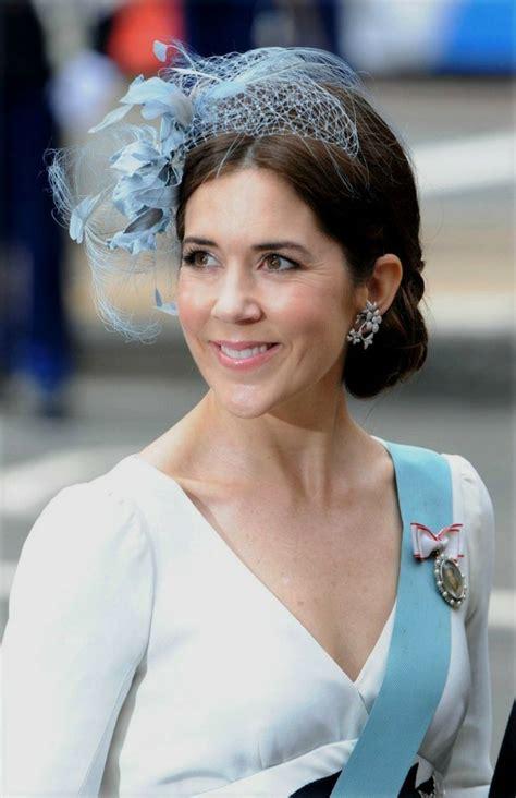 princess mary of denmark new bangs crown princess mary hrh princess mary of denmark