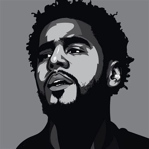 J Cole Drawing Easy by Scaredofmonsters J Cole Illustration Atlanta 1 Diverse