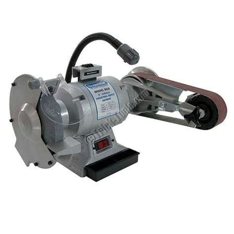 bench grinder with sander linishall 8 inch hd bench grinder with belt and disc