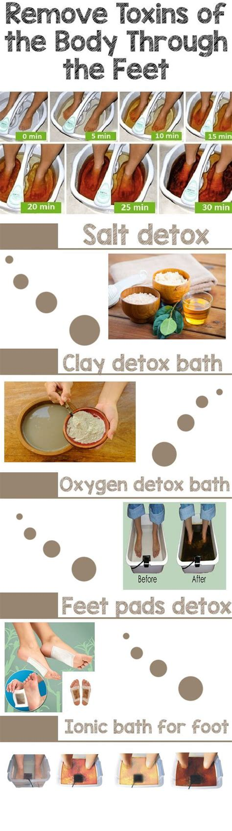 Foot Bath Detox Home Remedy by Best 25 Foot Baths Ideas On Detox Foot