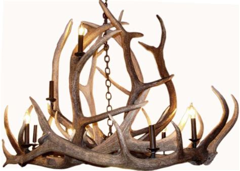 Large Rustic Chandelier Large Rustic Antler Chandelier For The Ralph Style Modernism
