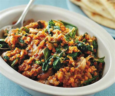 Brown Lentils Lentil Coklat 500 Gram lentil and spinach curry recipe food to