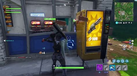 fortnite vending machine fortnite gold scar vending machines