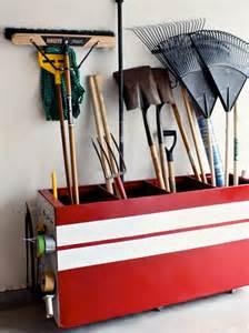 Garage Yard Tool Organizer 15 Garage Storage Ideas For Organization Easy Ideas For