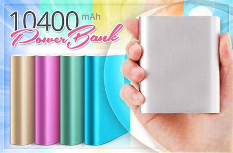 Promo Terbatas Power Bank Smart 10400 Mah With Qualcomm Charge 50 mi 10400mah powerbank promo