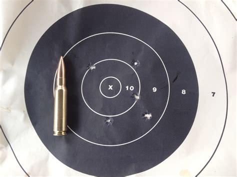 500 Yard Target Size by Rifle Range Testing Our 16 5 308 Remington