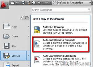 templates in autocad 2014 task 5 saving and using autocad templates cadnotes