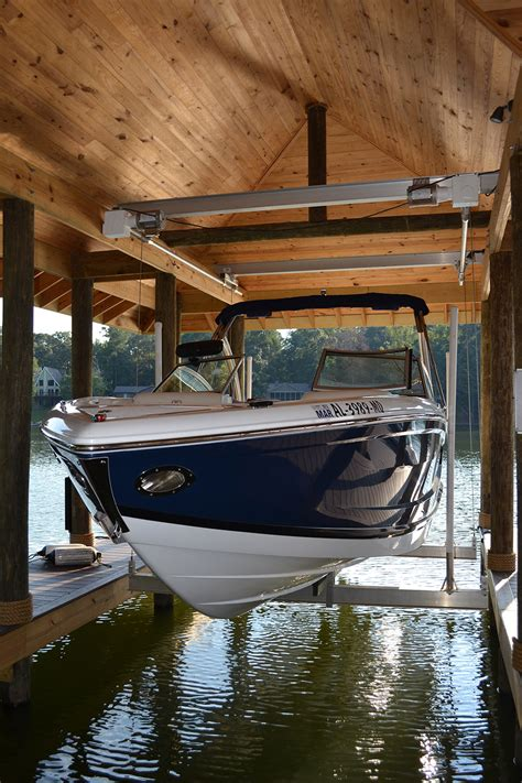 boat house lifts hi tide boathouse lifts lake martin dock company