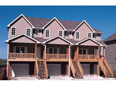 single story multi family house plans multi family housing single family townhouse plans two storey townhouse plans