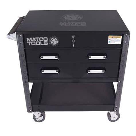 Matco 4 Drawer Tool Cart by Matco 2 Drawer Service Cart