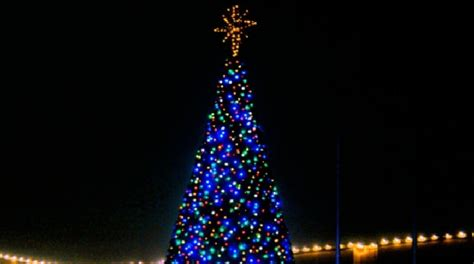 what tree holds lights better center city to hold tree lighting ceremony after cancelling parade kvii