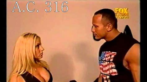 torrie wilson carlito the rock trish stratus kissing 12 3 2001 youtube