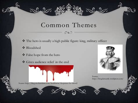 common themes between hamlet and macbeth shakespeare presentation 4