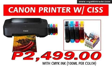 how to reset canon ip2770 continuous ink brand new canon pixma ip2770 w included ciss and free
