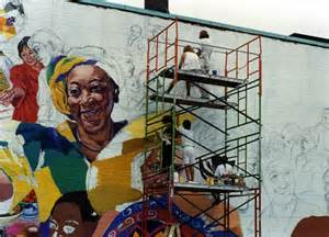 Wall Mural Graffiti david fichter step by step mural process boston murals
