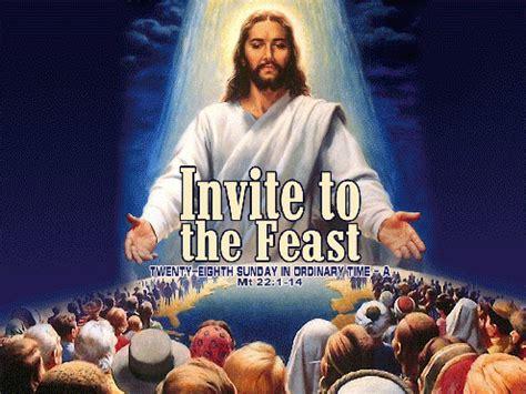 invitation to the wedding feast holy spirit catholic church valley