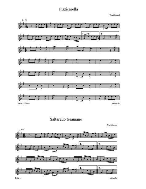 testo pizzicarella spartiti e tablature