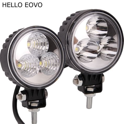 Led Light Bar Motorcycle Aliexpress Buy Hello Eovo 3 Inch 9w Led Work Light Bar For Indicators Motorcycle Driving