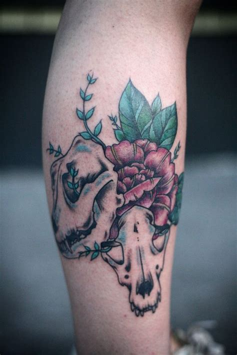 alberta animal tattoo registry god i love this so much inspiration for my cat skull by