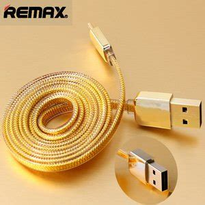 jual remax gold lightning braided cable for iphone 6 6 5