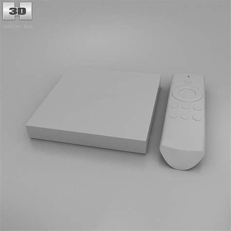 3d amazon amazon fire tv 3d model hum3d
