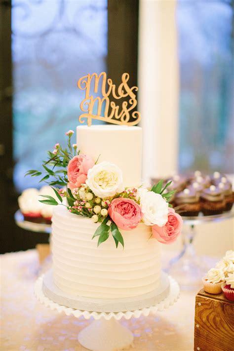 romantic texas winter wedding wedding cake toppers