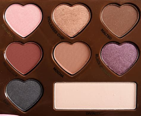 Eyeshadow Faced faced chocolate bon bons eyeshadow palette review photos swatches