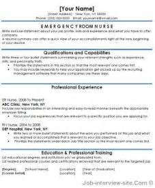 Emergency Department Description by Free 40 Top Professional Resume Templates