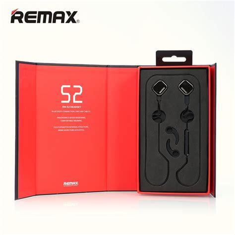 Trand Original Remax Bluetooth Earphone Neckband Rb S6 Mt001 original brand new remax rm s2 bluetooth headphone v4 1 sports stereo earphone magnet headset
