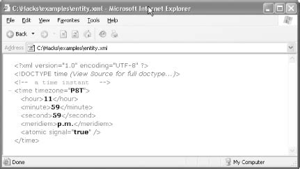 xmllint tutorial hack 25 include text and documents with entities