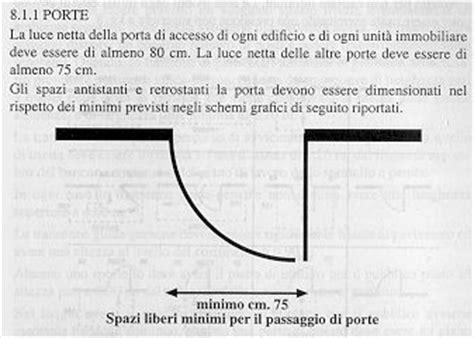 altezza maniglie porte d m ll pp 14 giugno 1989 n 236 8