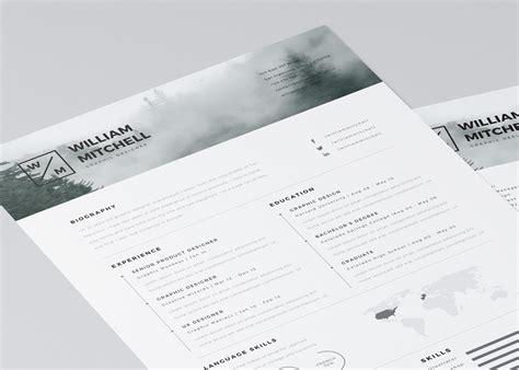 20 creative resume website templates 20 free editable cv resume templates for ps ai