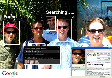 google images face recognition google allows searching for people in a photo taken on