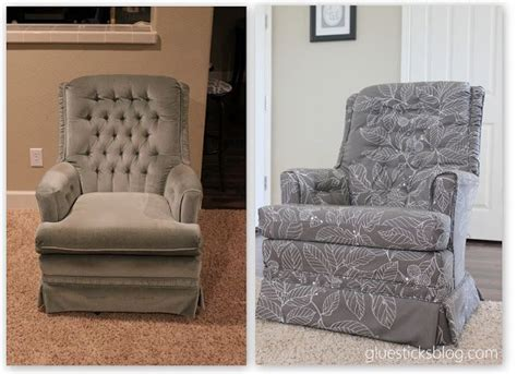 reupholster couch before and after before and after diy reupholstering furniture ideas