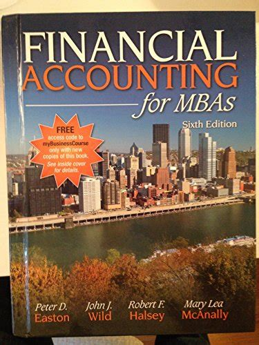 Mba Accounting Books by Cheapest Copy Of Financial Accounting For Mbas 6th