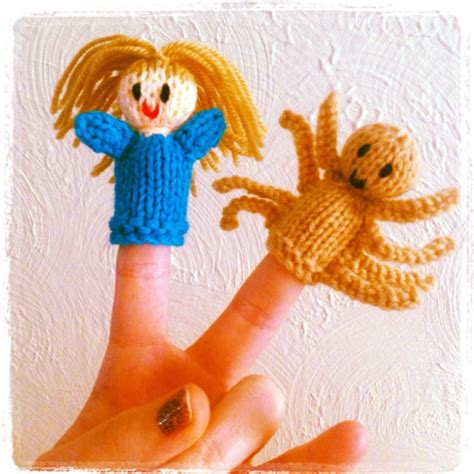 Handmade Puppets Patterns - 52 best images about knitting fingerpuppets on