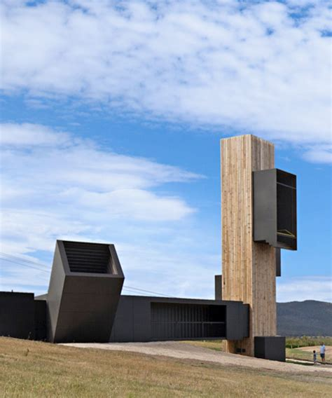 designboom observatories cumulus studio s vineyard observatory frames views of
