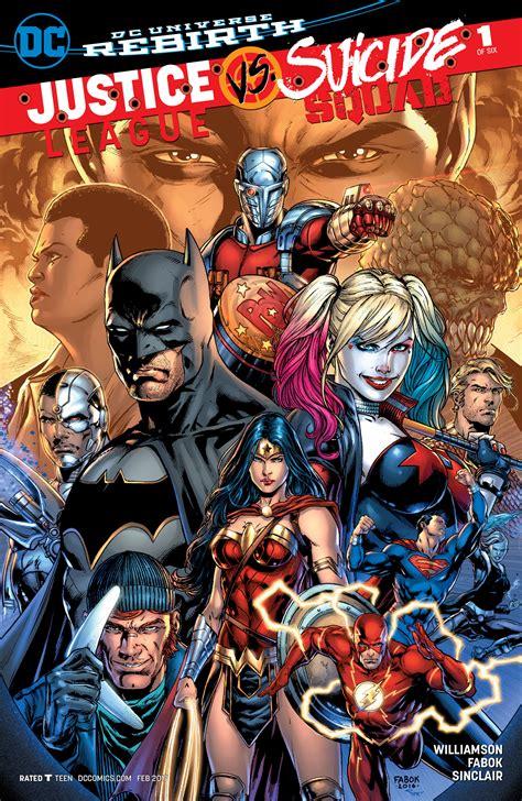 Dc Comics Justice League 14 April 2017 justice league vs squad vol 1 dc database fandom powered by wikia