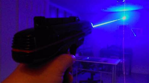 diode laser gan wow quot starlyte quot lazer tag pistol with 445nm laser