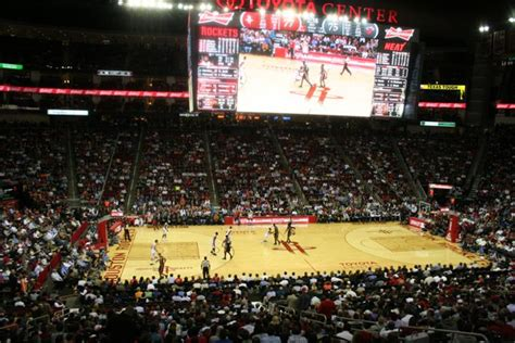 Houston Rockets Toyota Center Just Because Woodlands Relo