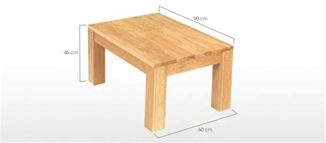 coffee table dimensions cube oak coffee table quercus living